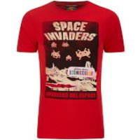Atari Men's Space Invaders Del EAtari Space T-Shirt - Red - S - Red