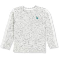 Nautica Boys' L/S T-Shirt - space heather, 10-12