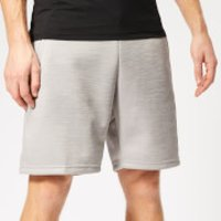 Reebok Men's Spacer Shorts - Grey Heather - XL - Grey