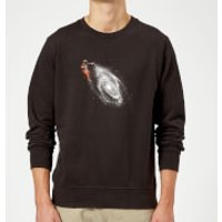 Space Art Sweatshirt - Black - 3XL - Black