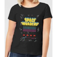 Space Invaders Game Screen Women's T-Shirt - Black - 4XL - Black