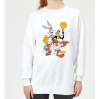 Space Jam Group Shot Women's Sweatshirt - White - 5XL - White