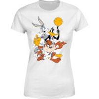 Space Jam Group Shot Women's T-Shirt - White - 5XL - White