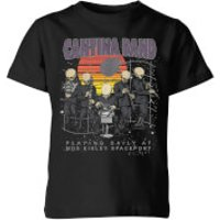 Star Wars Cantina Band At Spaceport Kids' T-Shirt - Black - 5-6 Years - Black