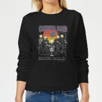 Star Wars Cantina Band At Spaceport Women's Sweatshirt - Black - L - Black