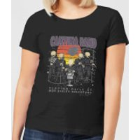 Star Wars Cantina Band At Spaceport Women's T-Shirt - Black - L - Black